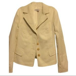 Escada Ivory Stretch Blazer